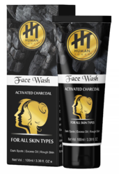 Human Touch Unisex Charcoal Face Wash