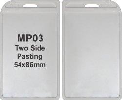 MP 03 Plastic ID Card Holder