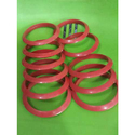 Red Conical Plastic Bangles For Silk Thread Bangles