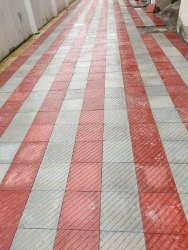 Paint Coated 30mm Cement Chequered Tiles, For Flooring, Size: 12*12