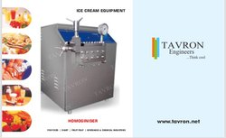 Ice Cream Mix Homoginiser