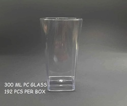Polycarbonate 350ml Unbreakable Drinking Glass
