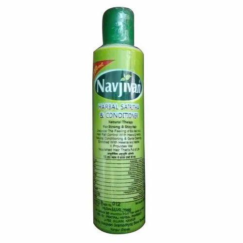 Navjeevan Herbal Satreetha Shampoo