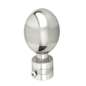 Dome Shaped Stainless Steel Curtain Bracket