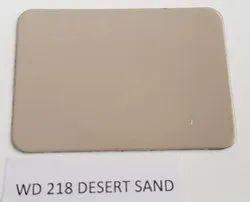 Wd 218 Desert Sand Acp Sheet
