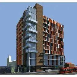 Concrete Frame Structures Commercial Projects Office Construction Services, Elevators & Escalators