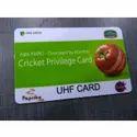Plastic UHF Card