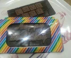 Customized Crackle Chocolate Bar