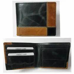 RFID Genuine Leather Wallet For Men