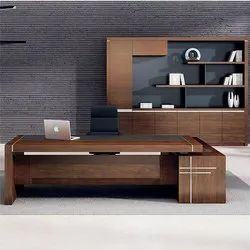 Wood Arts Brown Wooden Office Furniture