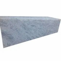 Polished Pearl White Granite Stone Slab, For Flooring and Wall Tile, Thickness: 10-15 mm