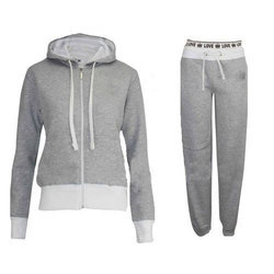 Plain Knitted Pull Over And Track Pants