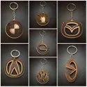Designer Wooden Keychain