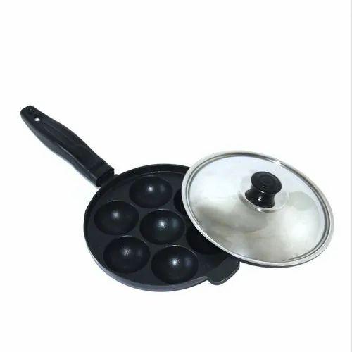 Evershine Non Stick Appam Pan, Size: 170 Mm Diameter, Packaging Type: Box