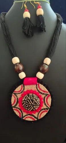 Handmade Jute Necklace Set, हैंडमेड नेकलेस, हाथ से बना नेकलेस in Thane  West, Thane , Fair EDeals   ID: 21610418862