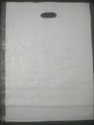 Reliable Polypropylene PP Woven Plain D Cut Bags, For Shopping