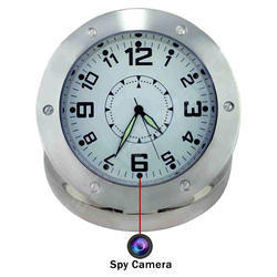 Spy Table Clock Camera
