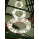 Round LED Duplex Chandelier