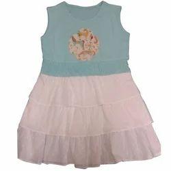 Organic Cotton Multicolor Organic Sleeveless Baby Dress