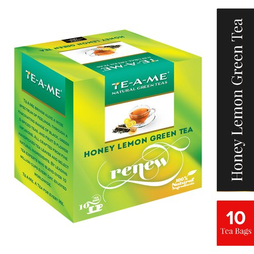 TE-A-ME 24 Month Honey Lemon Green Tea Bag