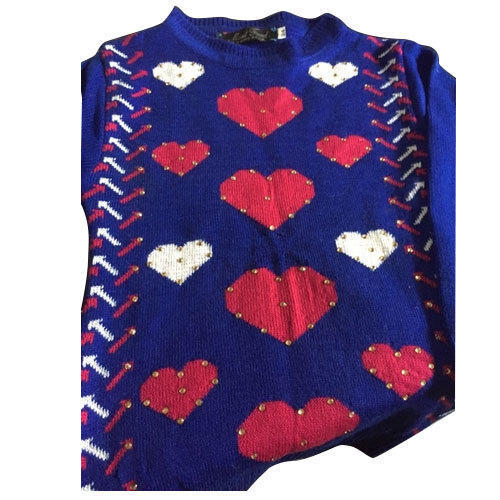 d973afa6ae Ladies Blue Woolen Sweater at Rs 300  piece