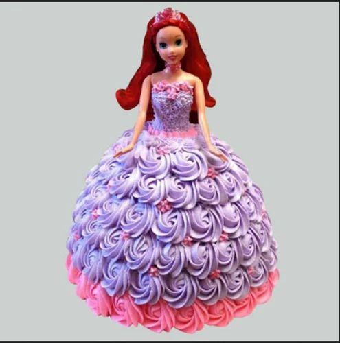 Barbie In Floral Roses Cake Vanilla 2kg At Rs 2799 Pack Vanilla