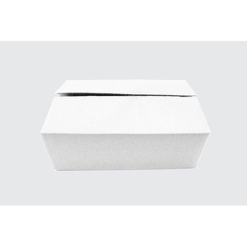 3 Ply White Packaging Corrugated Box 9x6x3 inch