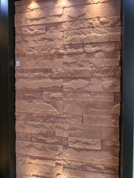 Red Tumbled Wall Cladding