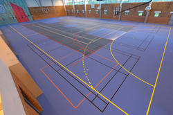 Indoor Sports Vinyl Flooring