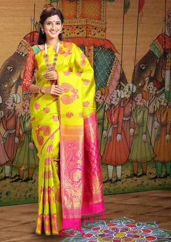 16670f7410d Pure Silk Festive Wear Trendy Kanjivaram Silk Saree