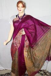 Casual Wear Digital Print Cotton Resham Madhubani Printed Saree