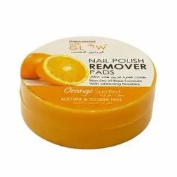 PureGlow Orange Nail Polish Remover Pads