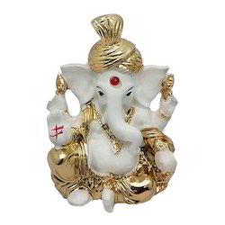Lord Shri Ganesha Car Dashboard Statue or Showpiece Gift Item