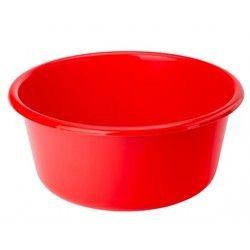 Red Plastic Bathtub