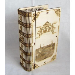 Rectangular Eco Friendly Wedding Card Box