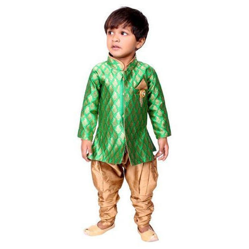 4815f6547b6e Male Cotton, Silk Boys Indo Western, Rs 300 /set, DS2 | ID: 17788312962