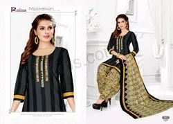 Heavy Ladies Cotton Suit