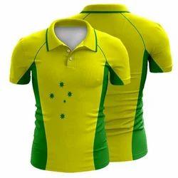 Medium And Large Cotton Sublimation Cricket T Shirt
