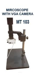 MT 103 Microscope With Light, Lens & Camera
