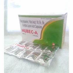 Mecobalamin Folic Acid Vit B1, B6, & Alpha Lipoic Acid Capsules