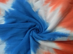 Tie Dye Cotton Fabric