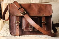 Handmade Leather Messenger Bag, Leather Laptop Bag, Leather Briefcase Bag, Vintage Bags, Brown Bag