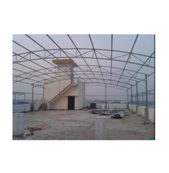 Terrace Arch Roofing Shed