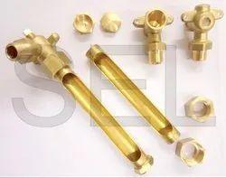 Brass Liquid Level Oil Gauge Gas Engine Parts