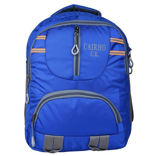 e08253d6e6 Bagpack Polyester Cairho Blue Light Weight Unisex School Bag /College  Backpack
