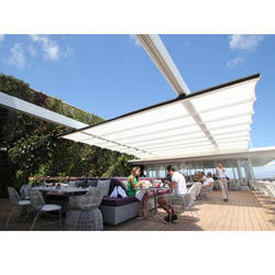 Waterproof White Retractable Awning Canopy