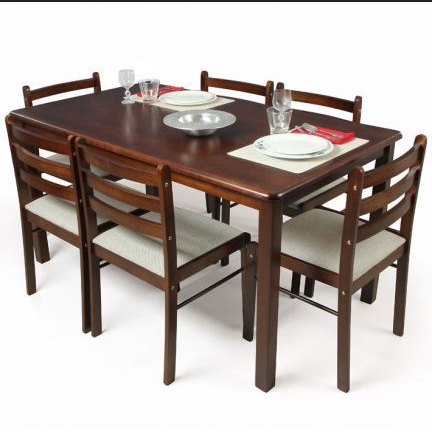 Black Brown Dining Table 48 Seater Rs 48 Set Rentrex ID Fascinating Black And Brown Dining Room Sets