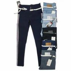 Plain Women Skinny Jeans, Packaging Type: Packet