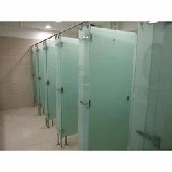 Transparent Toilet Cubicles Glass, 10 Mm
