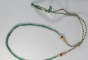 Natural Emerald Necklace With Adjustable String